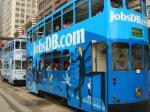香港の街の顔である路面電車「2階建てトラム」